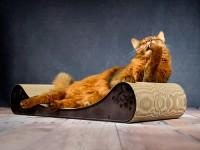Canapé pour chat Le Divan | méridienne à chat en noir - couleur: 013b