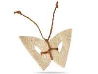 Papillon en luffa