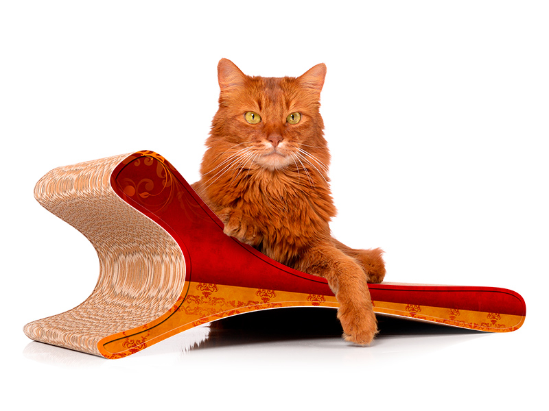 cat-on Feline 030  Kratzmöbel für die Katze