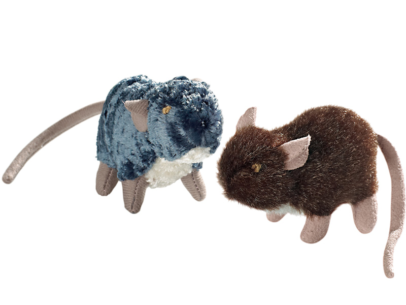 Spielzeug für Katzen - Ratten