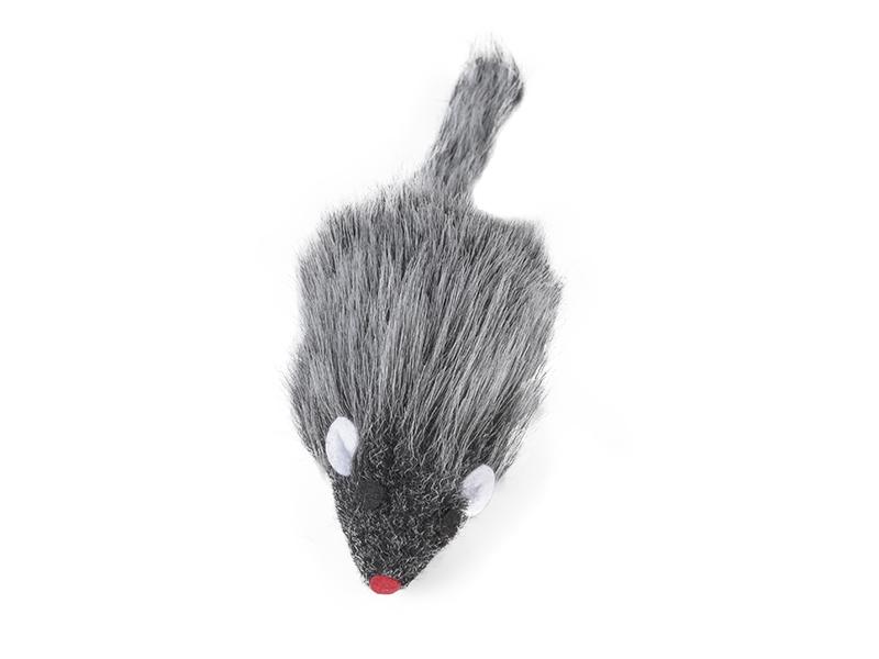 Souris en peluche 10cm en cotton  |jouet pour chats
