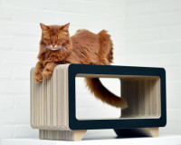 Aperçu: La Tele Design Katzen Kratzmöbel aus Wellpappe Made in Germany