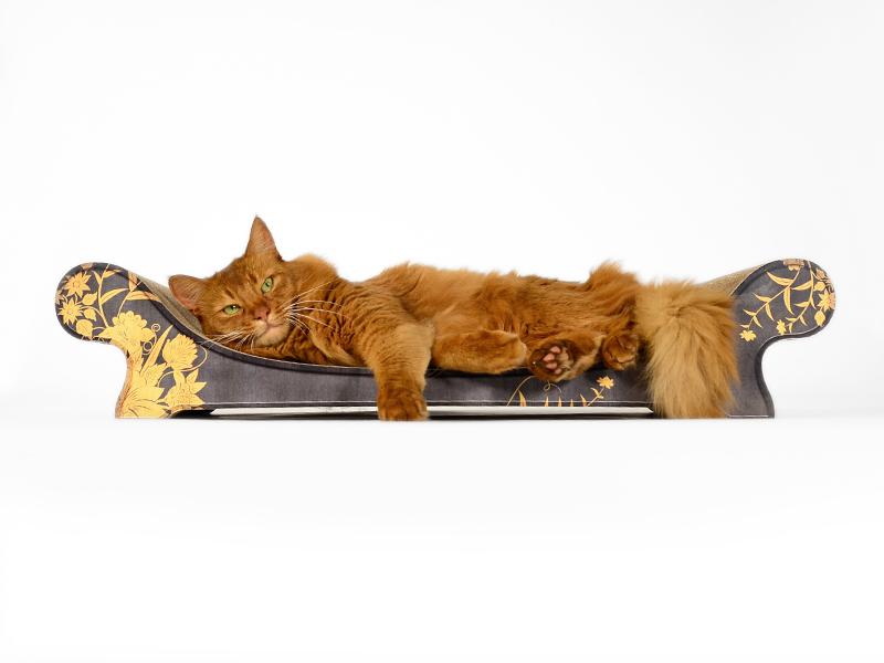 Griffoir en carton pour chat Le Canapé