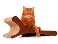 Aperçu: Kratzbrett cat-on Feline 002b - Kratzmöbel aus Wellpappe