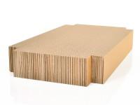 Aperçu: Cageot griffoir L en bois de chêne - basalte