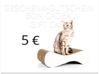 bon cadeau cat-on - valeur: 5,00€