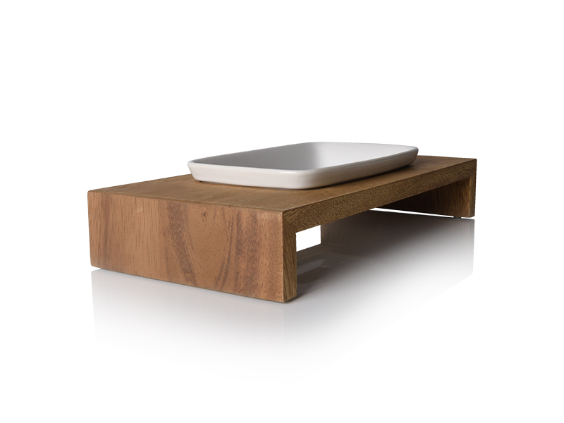 Siam écuelle en bois de teck