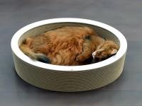 Aperçu: LOVALE - ovaler Katzenkorb aus Wellpappe