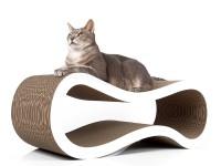 Aperçu: Grand griffoir pour chats en carton ondulé   griffoir Singha L
