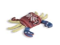 Aperçu: Katzenspielzeug Krabbe aus Baumwolle gefüllt mit Katzenminze