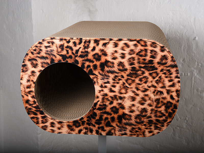 Brochhaus - Katzenmöbel aus Wellpappe