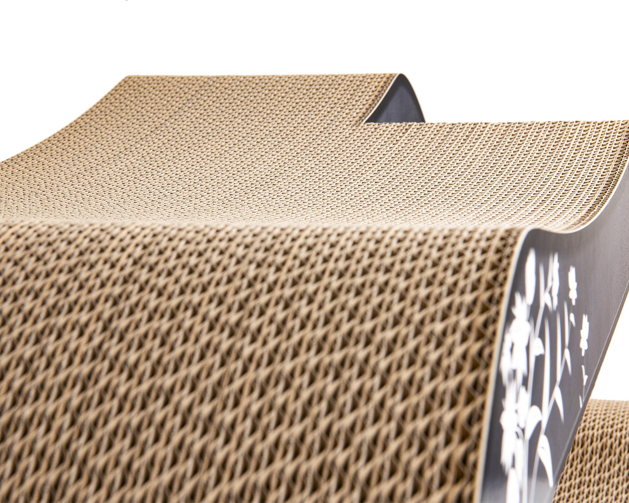 Zone de couchage supérieure, courbe ergonomique