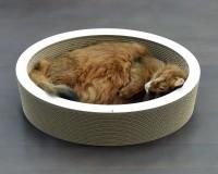 Aperçu: Lovale - corbeille à chat en carton ondulé